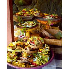 Bali Still Life Offerings